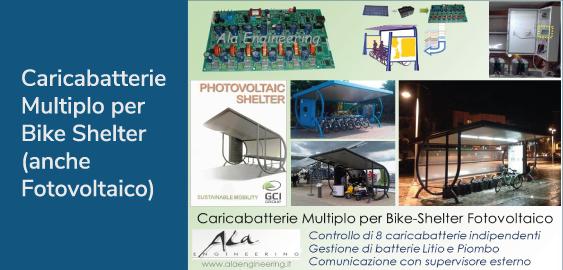 , Mobilità sostenibile: Bike Shelter