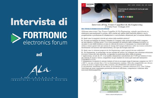 Intervista Fortronic Ala Engineering